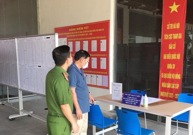 """Đồng bộ nhiều giải pháp bảo đảm an ninh, an toàn """"Ngày hội bầu cử"""" tại quận Bắc Từ Liêm"""