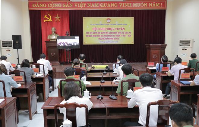 Thứ trưởng Trần Quốc Tỏ tiếp xúc cử tri, vận động bầu cử tại huyện Yên Phong, Bắc Ninh - Ảnh minh hoạ 2