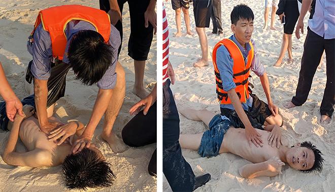 Đại úy Công an xã cùng người dân kịp thời cứu nạn nhân đuối nước
