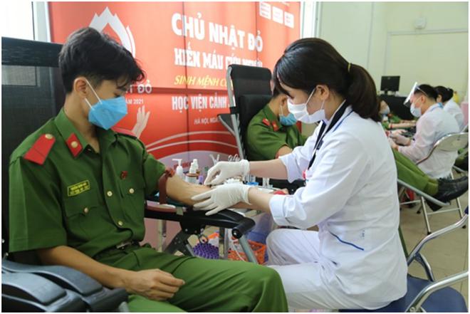 Học viện CSND vận động hơn 2.000 đơn vị máu cứu người - Ảnh minh hoạ 4
