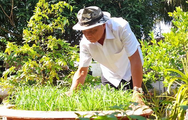 Đại tá Lê Thanh Long - người thương binh ngoan cường