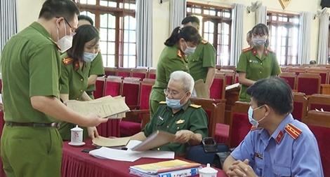 Thẩm định hồ sơ đề nghị đặc xá năm 2021 của Công an tỉnh Yên Bái
