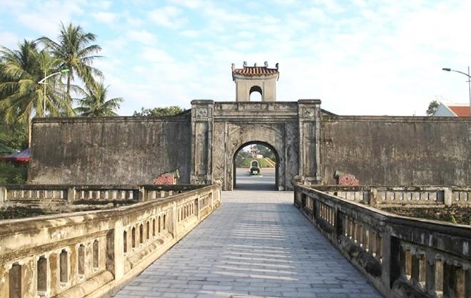Một góc thành cổ Quảng Trị ngày nay.