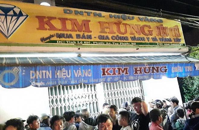 Kẻ cướp tiệm vàng ở Bình Định có tiền sử bệnh tâm thần
