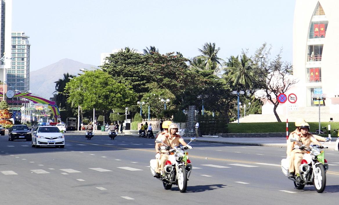 Xuất quân bảo đảm trật tự ATGT Hội nghị hẹp  các Bộ trưởng Ngoại giao ASEAN 2020