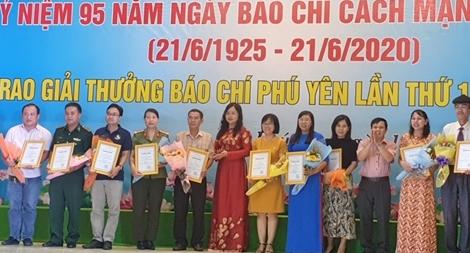 Phóng viên Báo CAND đoạt giải C báo chí Phú Yên