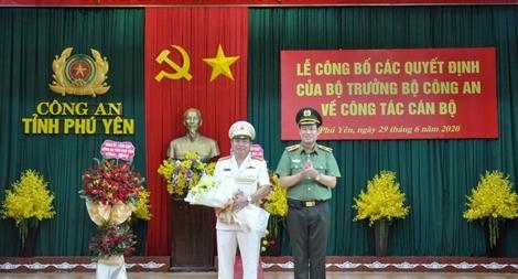 Đại tá Phan Thanh Tám giữ chức vụ Giám đốc Công an tỉnh Phú Yên