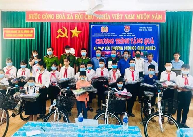 20 chiếc xe đạp tặng học sinh nghèo Phú Yên - Ảnh minh hoạ 2