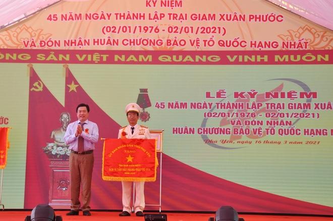 Trại giam Xuân Phước đón nhận Huân chương Bảo vệ Tổ quốc hạng Nhất - Ảnh minh hoạ 5