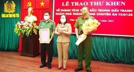 Khen thưởng Công an tỉnh Phú Yên làm rõ vụ phá rừng lớn nhất ở địa phương