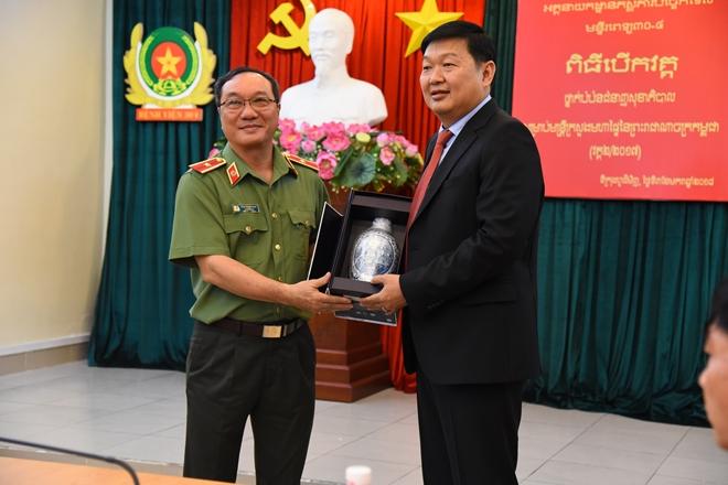 Khai giảng lớp nghiệp vụ Khoá 2- 2017 cho cán bộ y tế Bộ Nội vụ Campuchia - Ảnh minh hoạ 3