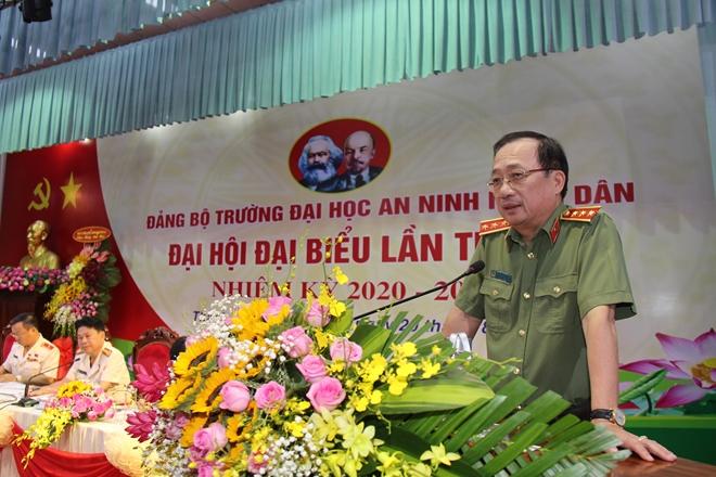 Nâng cao chất lượng đào tạo, đưa ĐH ANND trở thành trung tâm đào tạo  uy tín của lực lượng CAND