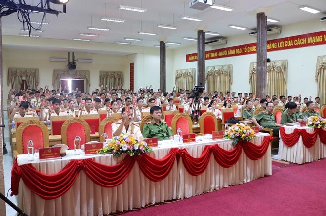 Đại hội Đảng bộ trường Cao đẳng CSND II - Ảnh minh hoạ 2
