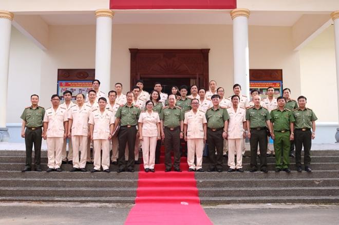 Đại hội Đảng bộ trường Cao đẳng CSND II - Ảnh minh hoạ 4