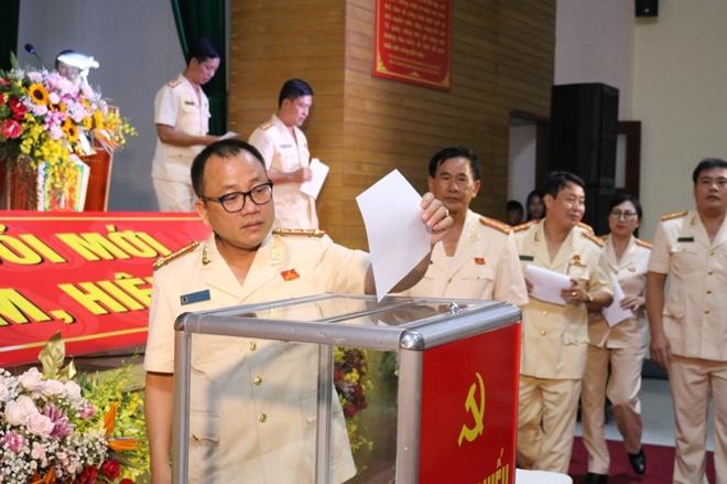 Đại hội Đảng bộ trường Cao đẳng CSND II - Ảnh minh hoạ 5