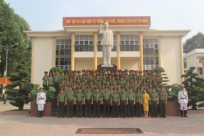 Đại học ANND khai giảng Nghiên cứu sinh khoá 10