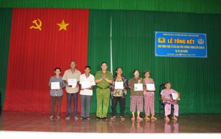 Học viên Trường Trung cấp CSND VI thực tế tại Đồng Nai