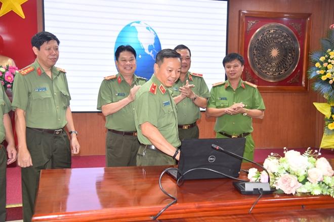 Ra mắt Trang thông tin điện tử của Trường ĐH ANND