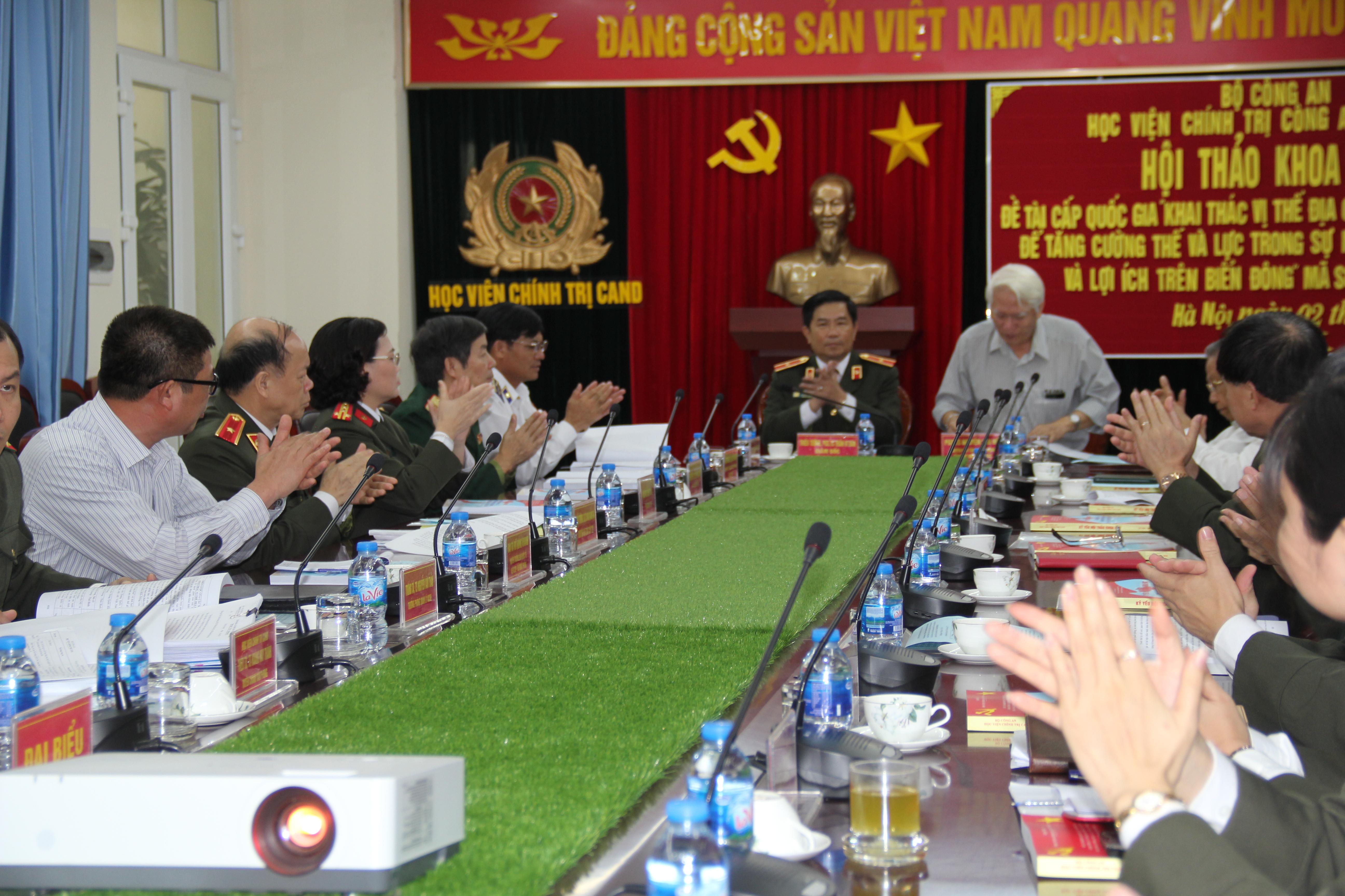 """Hội thảo khoa học """"Nhận thức về vị thế địa chính trị và khai thác vị thế địa chính trị của Việt Nam"""""""