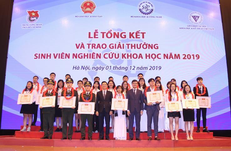 """Học viện ANND giành giải nhất cuộc thi """"Sinh viên nghiên cứu khoa học"""" năm 2019"""