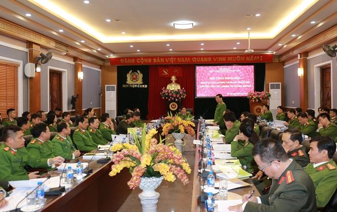 Nâng cao chất lượng đào tạo lực lượng CSND đáp ứng nhiệm vụ tại địa bàn xã
