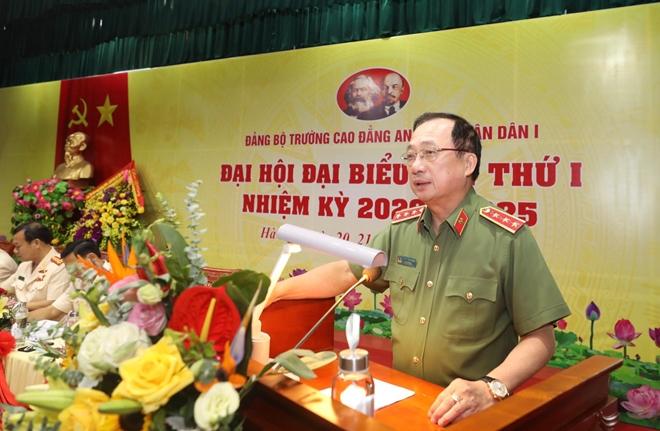 Đại hội đại biểu Đảng bộ Trường Cao đẳng ANND I nhiệm kỳ 2020-2025