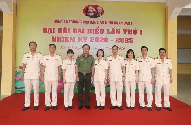 Đại hội đại biểu Đảng bộ Trường Cao đẳng ANND I nhiệm kỳ 2020-2025 - Ảnh minh hoạ 6