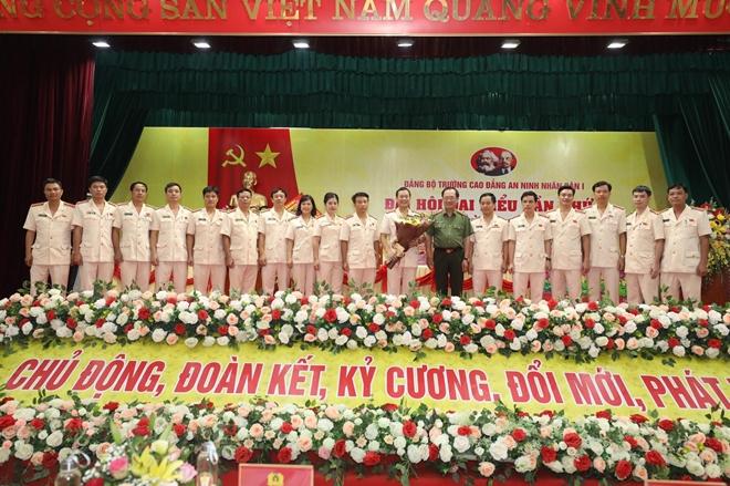 Đại hội đại biểu Đảng bộ Trường Cao đẳng ANND I nhiệm kỳ 2020-2025 - Ảnh minh hoạ 5
