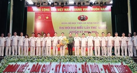 Xứng đáng là cơ sở giáo dục đào tạo hàng đầu của lực lượng CAND