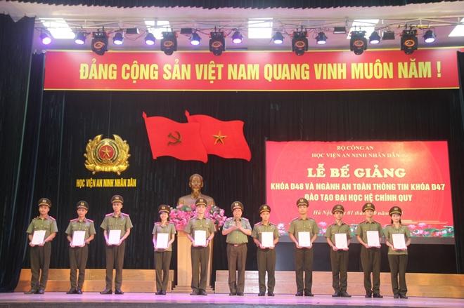 Trao bằng tốt nghiệp cho các tân sỹ quan An ninh khóa D48 và ngành ATTT khóa D47 - Ảnh minh hoạ 4