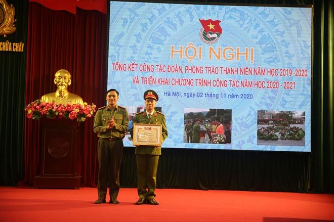 Trường Đại học PCCC tổng kết công tác Đoàn và phong trào thanh niên