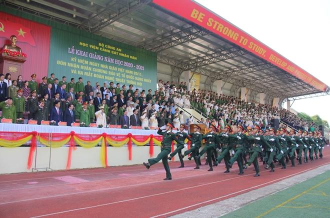 Học viện CSND đón nhận Huân chương Bảo vệ Tổ quốc Hạng nhất