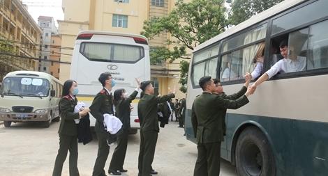 Học viện ANND tổ chức Lễ xuất quân thực tập tốt nghiệp cho học viên Khoá D48 và D49