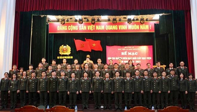 Học viện ANND khen thưởng các giảng viên dạy giỏi - Ảnh minh hoạ 4