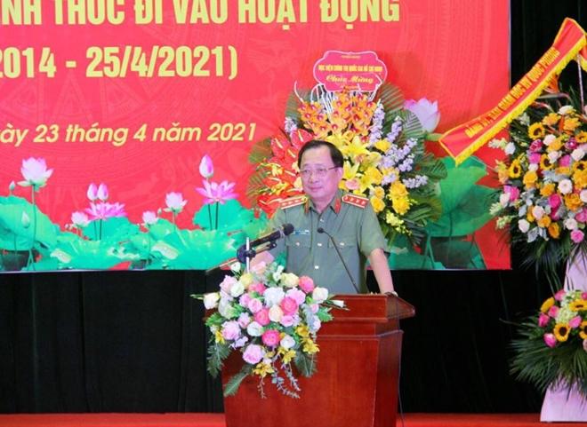 Học viện Chính trị CAND kỷ niệm 7 năm ngày thành lập