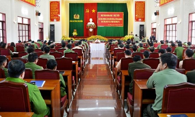 Hội thảo xây dựng phong cách người Công an Lâm Đồng - Ảnh minh hoạ 2