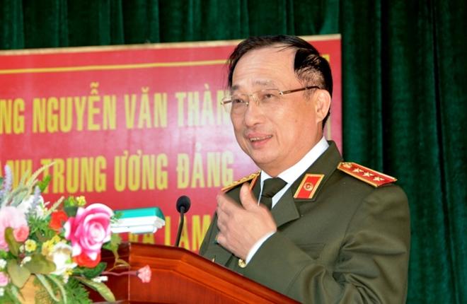 Thứ trưởng Nguyễn Văn Thành làm việc với Công an, Cảnh sát PCCC Lâm Đồng