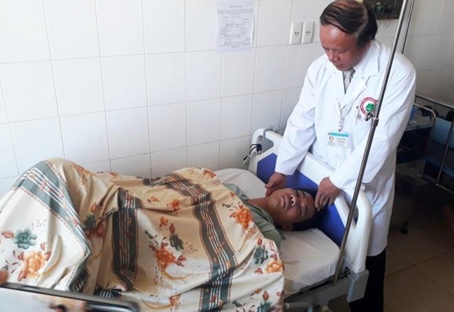 Anh Vũ Văn Chinh tại Bệnh viện Đa khoa Lâm Đồng