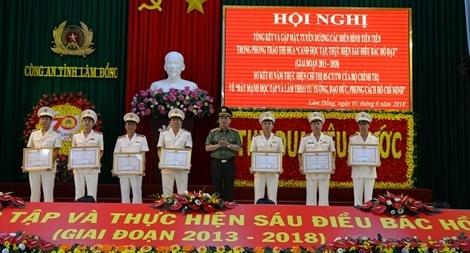 Công an Lâm Đồng tổng kết 5 năm phong trào học tập, thực hiện Sáu điều Bác Hồ dạy