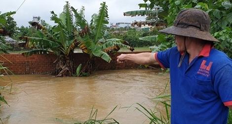 Một Công an viên hy sinh trong lúc giúp dân chống lũ ở Lâm Đồng
