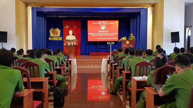 Tập huấn tuyên truyền phòng cháy và cứu nạn khu vực miền Trung – Tây Nguyên