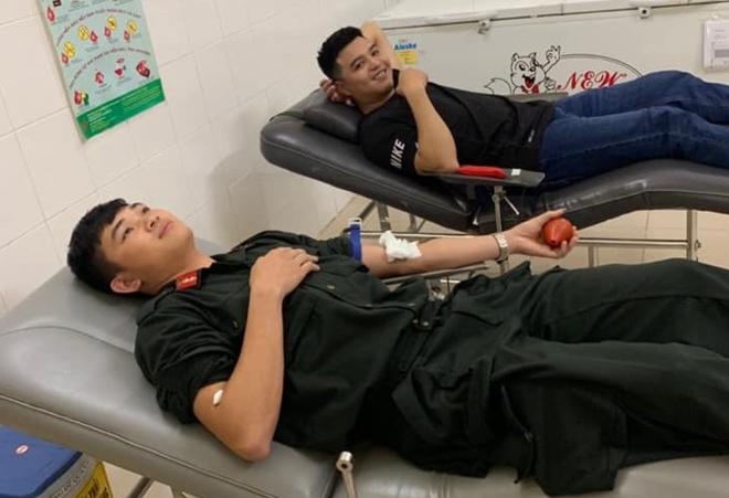 Ba cán bộ Công an hiến máu nhóm hiếm cứu người nguy kịch