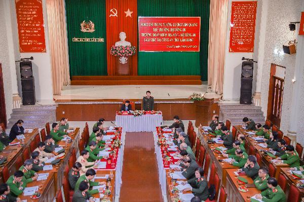 Thứ trưởng Lương Tam Quang làm việc tại Công an Lâm Đồng - Ảnh minh hoạ 2