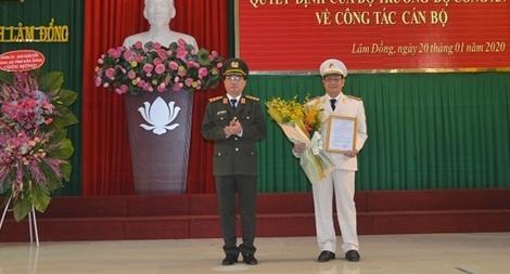 Công bố Quyết định bổ nhiệm tân Giám đốc Công an tỉnh Lâm Đồng