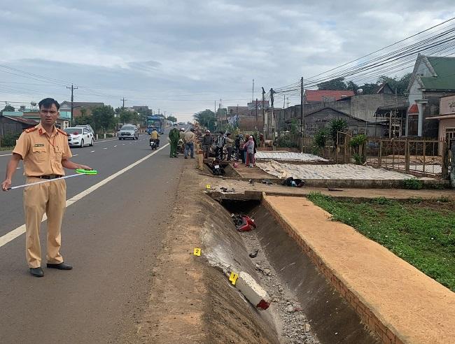 Công an Lâm Đồng chủ động điều tra, giải quyết tai nạn giao thông