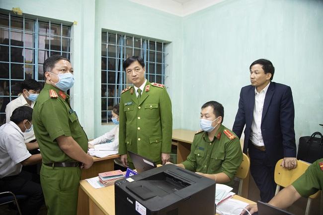 Huy động lực lượng Phòng Kỹ thuật hình sự, Thi hành án cùng tham gia việc cấp CCCD