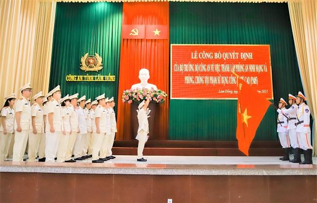 Công an Lâm Đồng thành lập phòng An ninh mạng