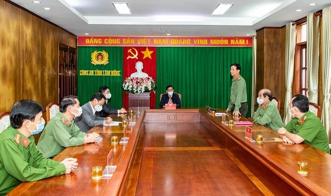 Công an Lâm Đồng nỗ lực ngăn chặn dịch bệnh COVID-19