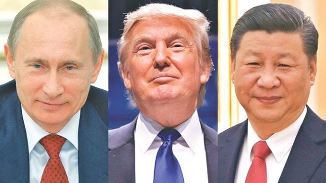 Trong khi Tổng thống Mỹ Donald Trump và Chủ tịch Trung Quốc Tập Cận Bình đều muốn kéo dài thời gian làm việc của một nhiệm kỳ thì Tổng thống Nga Vladimir Putin lại không muốn như vậy.
