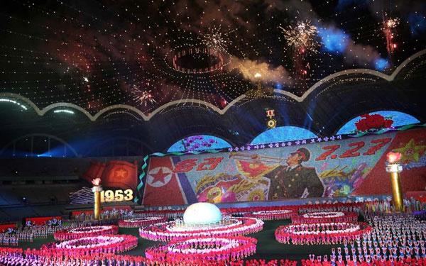 Lễ diễu binh nỗ lực phi hạt nhân trong ngày Quốc khánh Triều Tiên